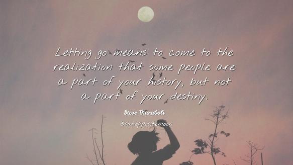 letting go SOM