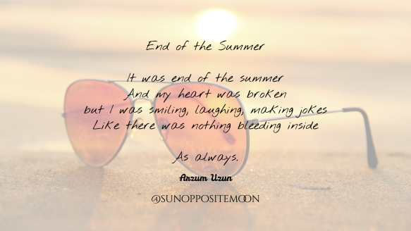 end of summer SOM